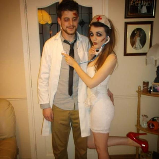 25+ best ideas about Scary couples costumes on Pinterest ... Easy Couples Costumes  sc 1 st  tvnewsclips.info & Easy Couples Costumes - 2018 images u0026 pictures - 15 Couple Halloween ...