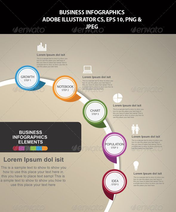 Business Infographics Template #design Download: http://graphicriver.net/item/business-infographics/6756682?ref=ksioks