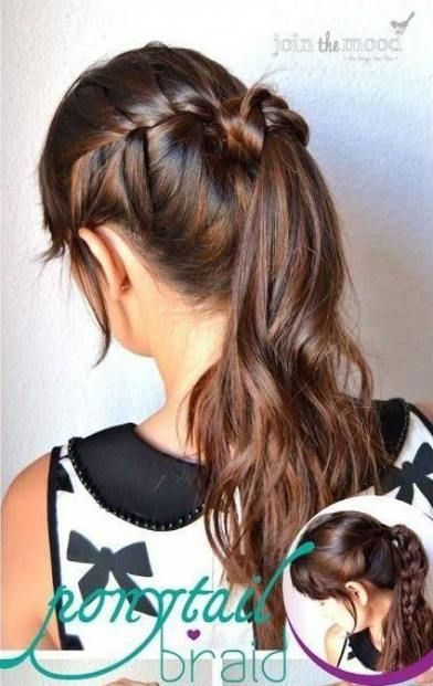 48+ Ideas for hair tutorial updo pony tails messy ponytail