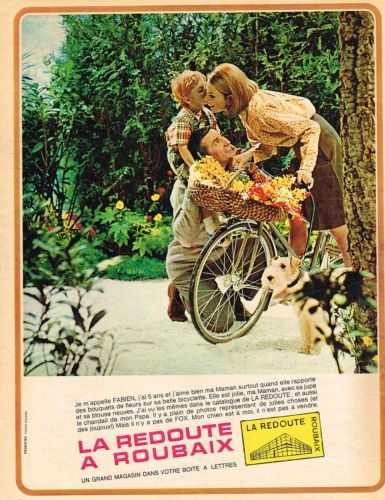 ADVERTISING-1965-LA-REDOUTE-a-ROUBAIX