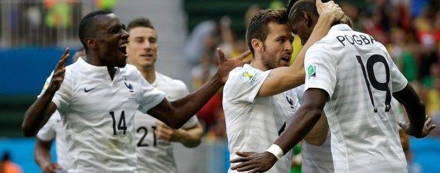 1/8 de finale : France 2 - 0 Nigéria - Coupe du monde - Brésil 2014