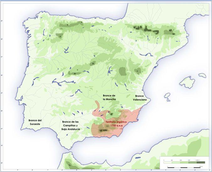 EL ARGAR (c. 1700 ac.). Edad del Bronce