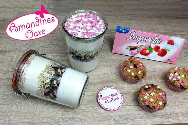 Cupcakes & Muffins - Yogurette-Muffins Backmischung im Glas - Amandines Oase Mehr