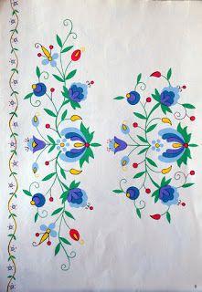 Wzory haftu kaszubskiego //  Kashubian embroidery patterns