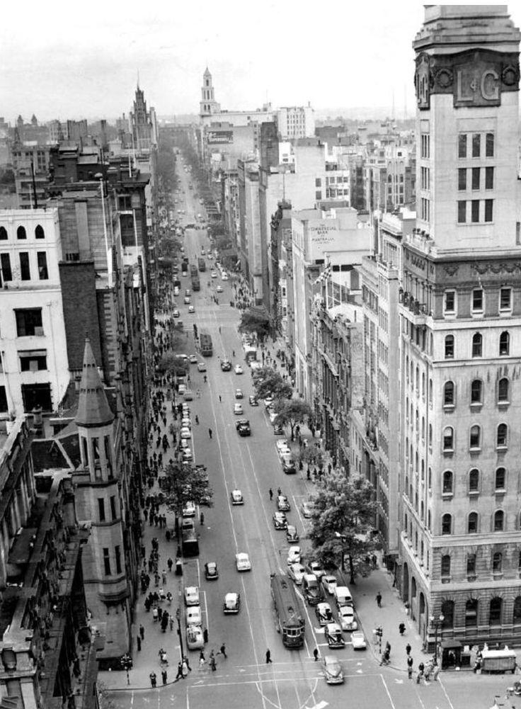 Collins St 1956
