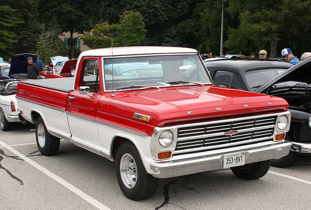 1968 Ford truck | 1968 Ford F-100 Ranger Styleside pickup | Flickr - Photo Sharing!