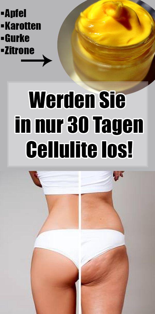 Werden Sie in nur 30 Tagen Cellulite los