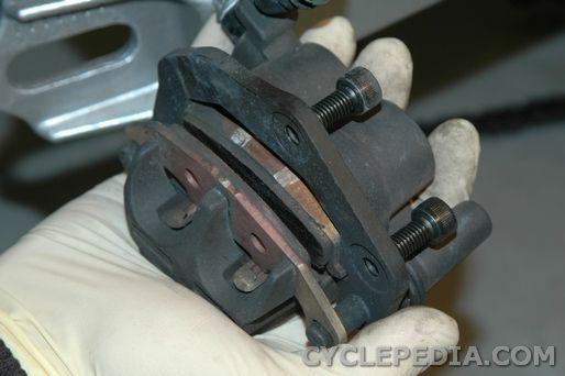 rear brakes ninja ex250r