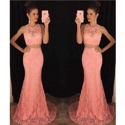 Lace Prom Dress for a High School