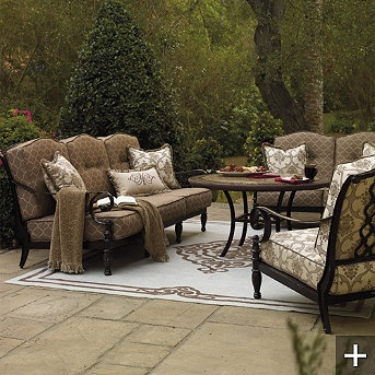 Shop The Marseilles Collection For Superior Outdoor Furniture Sets That  Feature Sweeping, Grand Scale Seating Romanced With Sculpted Cushions And  Details.