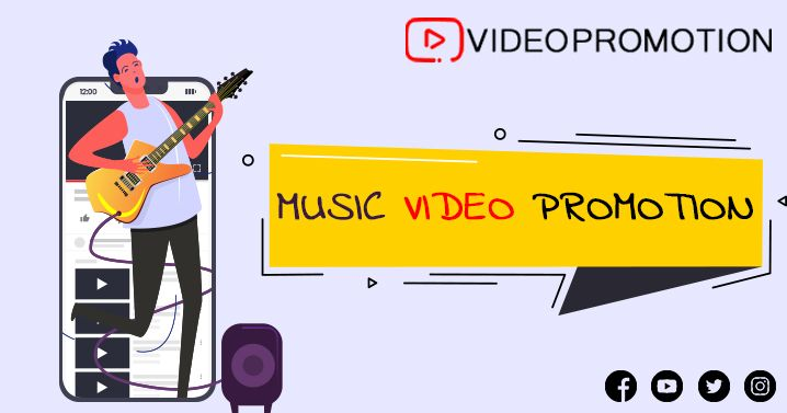 Encourage Music Video Promotion To Expose Your Creative Video Content To The Global Audience In 2020 Youtube Marketing Creative Video Promotional Video