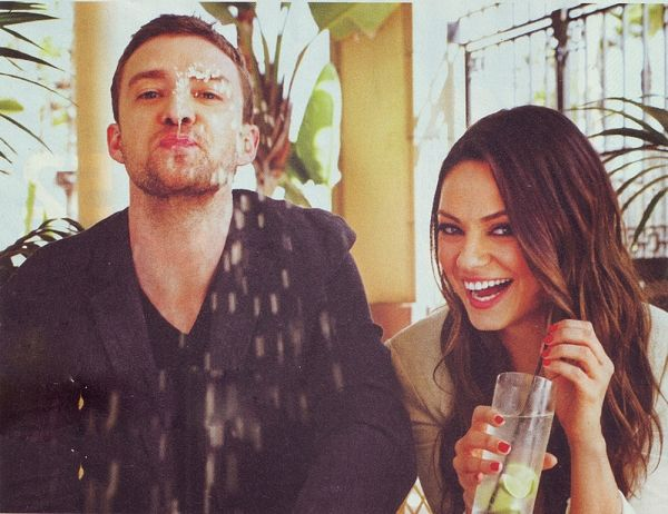 justin timberlake and mila kunis are perfect.