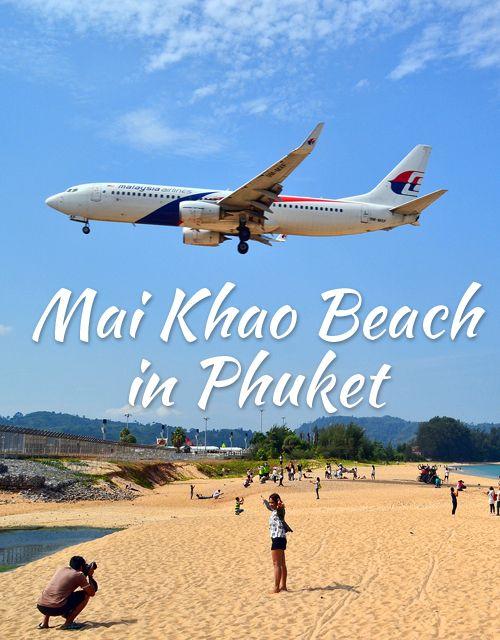 Mai Khao Beach – the Plane Spotting Beach in Phuket