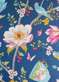Bilderesultat for tapet blå blomster