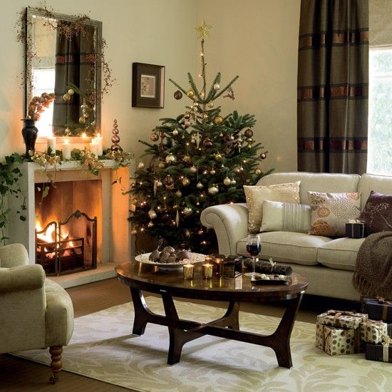 decorating living room for christmas. Rich chocolate living room  Christmas Decorating 54 best Living Rooms images on Pinterest