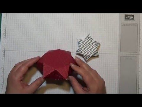 Anleitung: 3D Sternverpackung