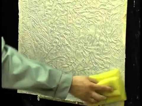Декоративная штукатурка Версажель - Мастер-класс - YouTube
