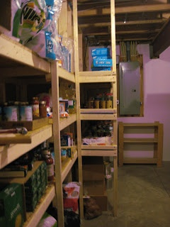 The Wessman Family Food Storage Room