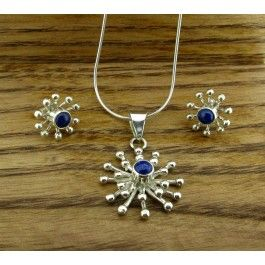 11 best amber from chiapas in mexico silver jewellery images on flor mercurio with lapis lazuli silver pendant and earrings set handmade mexican jewellery from silver mozeypictures Choice Image