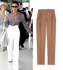 Resultado de imagen para pantalones con prenses para dama