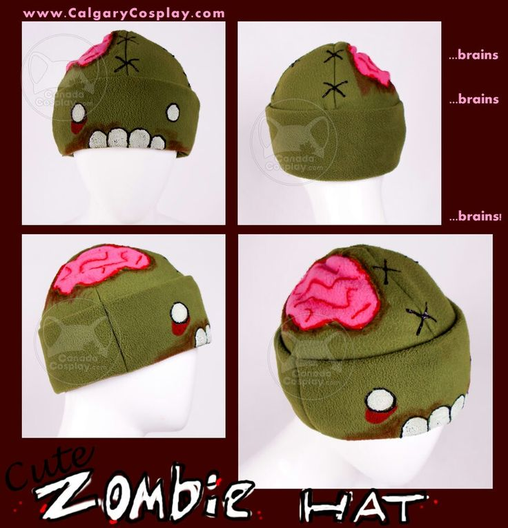 Zombie cute hat cosplay