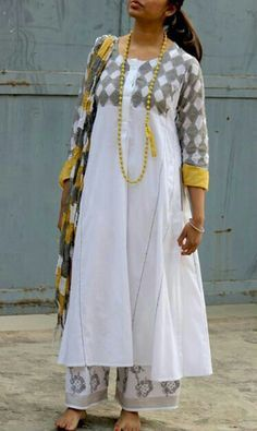 Loose long kurta ..street style