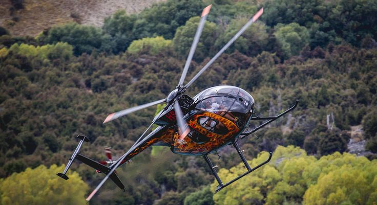 Jump in this nimble little flying machine for a thrilling helicopter flight in a Hughes 500. This is Oxbow The Adventure Company... This is their hallmark adventure experience, providing guests with a first class tour of the spectacular Wanaka region in all it's glory, no matter the season.