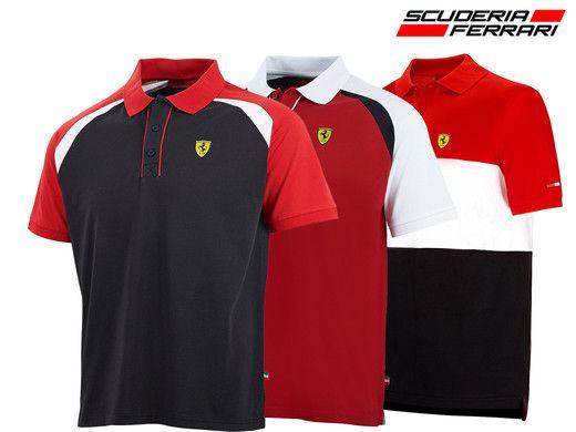 Dagaanbieding: Scuderia Ferrari Race herenpolo's