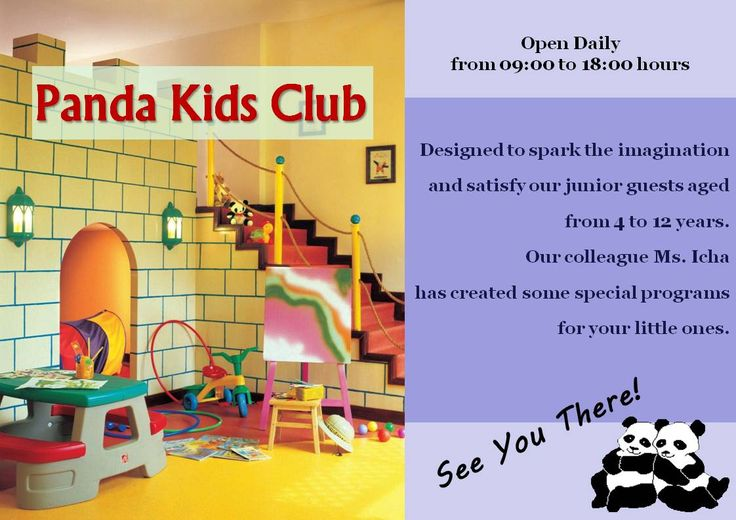 Panda Kids Club - Holiday Inn Resort Batam