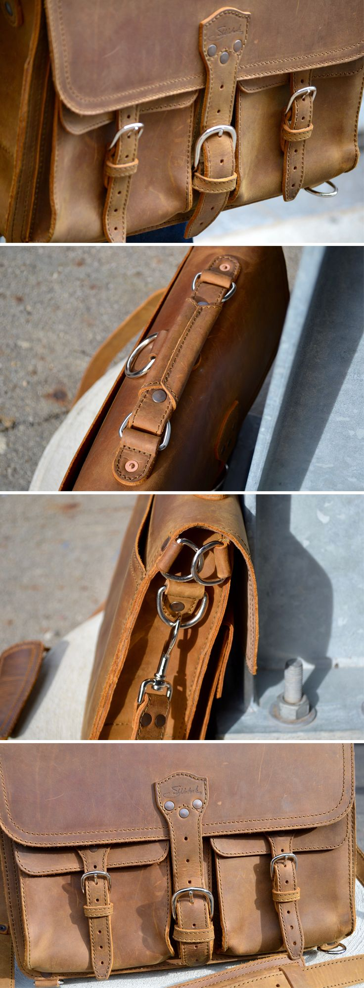 """""""You'll have to pry mine from my cold, dead hands."""" Jeremy Lahman of Urban Beardsman won't give up his Thin Front Pocket Leather Briefcase without a fight. Come read why."""