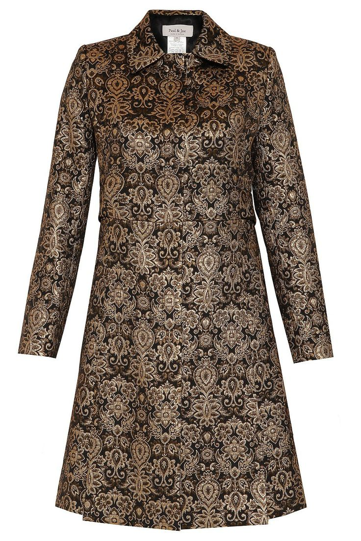 30 Brocade Long Coat By PAUL