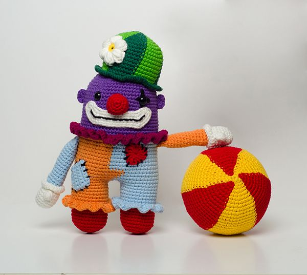 Amigurumi Big Heart : 17 Best images about amigurumi circus on Pinterest The ...