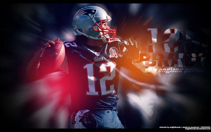 Tom Brady wallpaper (1280 x 800) by http://mightbreak.deviantart.com
