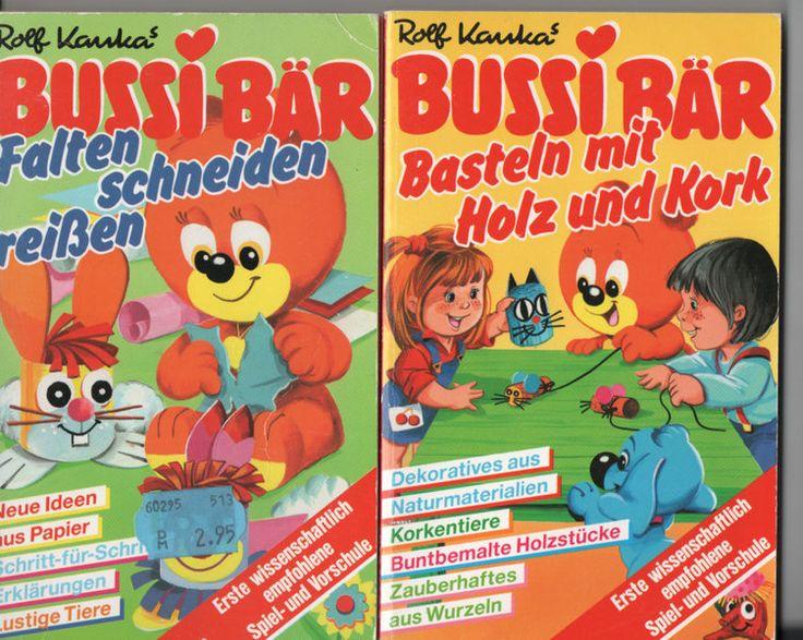2+tolle+Bussi+Bär+Bastelbücher+von+zeitlosschoen+auf+DaWanda.com