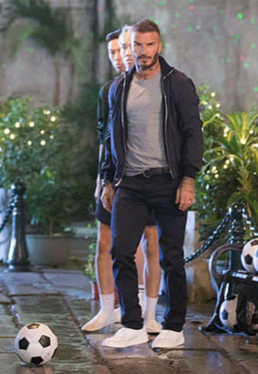 Effortlessly Cool David Beckham Style Men S Street