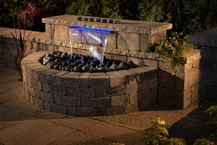 17 best images about outdoor living kits on pinterest for Waterfall supplies