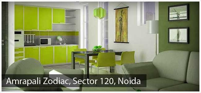 Amrapali Zodiac located in Sector 120; Noida offers accommodations in options of Penthouses and Apartments ranging from 950 to 2450 sq. ft. created by reputed Amrapali Group known for its luxurious residential ventures.