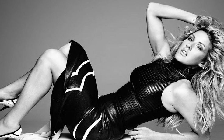 Ellie Goulding for Hunger magazine in Jitrois leather top