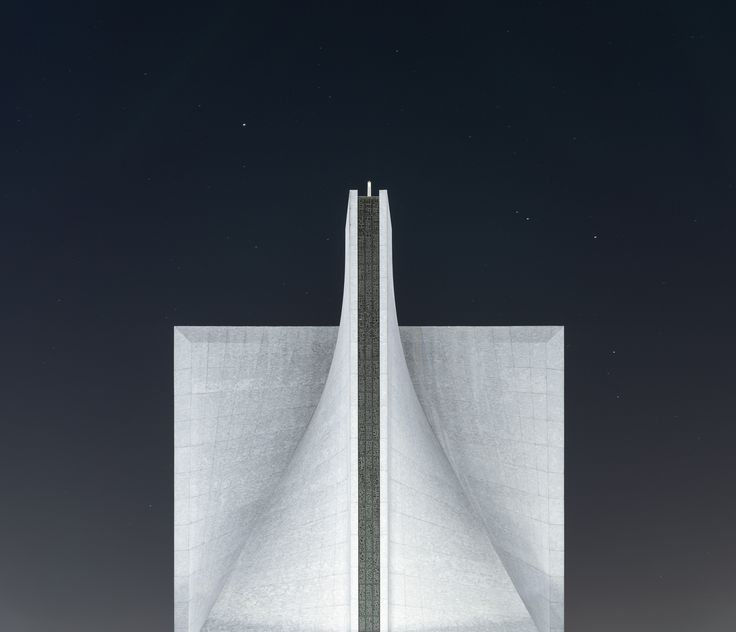 A Modern White Saddle Roof Of A Cathedral In San Francisco On A Starry Night