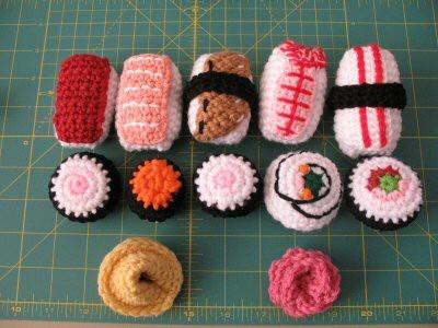 Crochet Sushi anyone?.