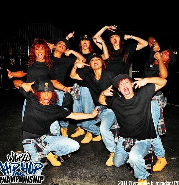 Request dance crew at hiphop comp