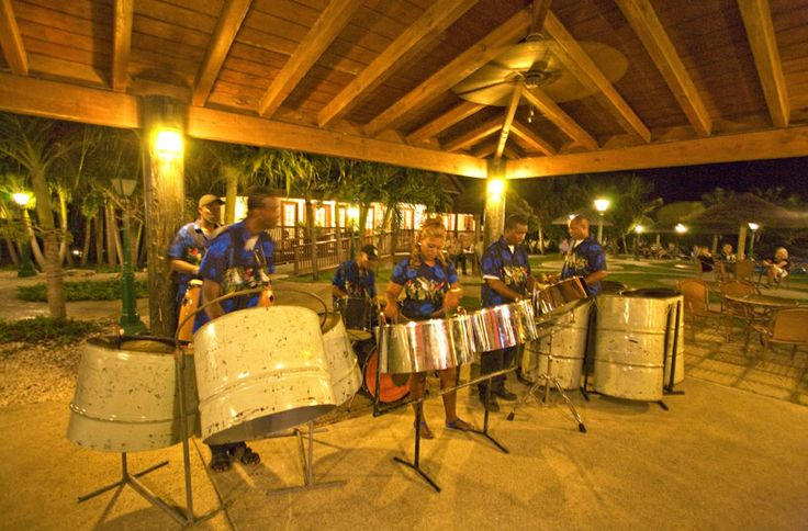 Local steel pan band