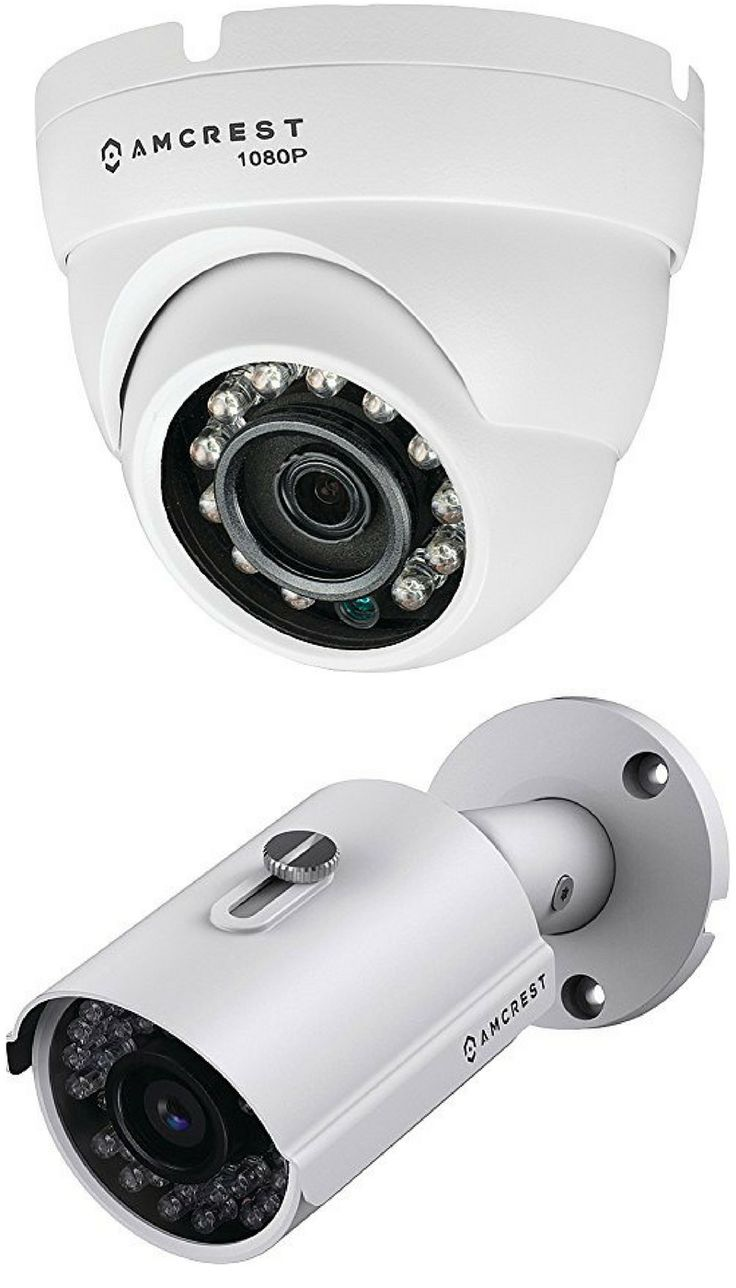 Amcrest HD Analog Video Security Systems
