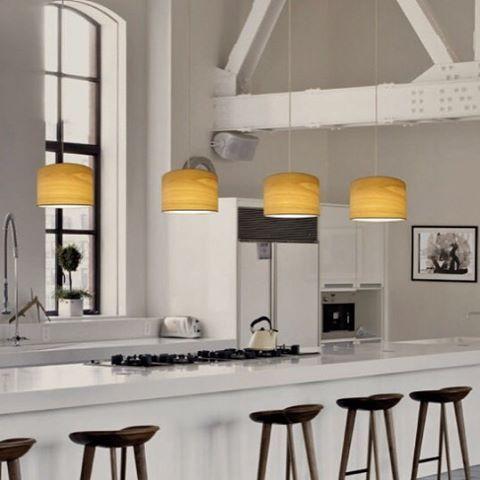 17 mejores ideas sobre iluminaci n de colgantes de cocina - Lamparas colgantes cocina ...