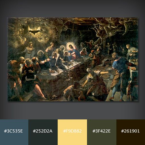 tintorettos last supper The last supper, 1594 giclee print by jacopo robusti tintoretto - at allposters com choose from over 500000 posters & art prints value framing, fast.