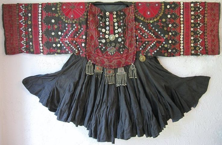 A hand-embroidered jumlo from Indus Kohistan, Pakistan