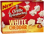 White Cheddar Microwave Popcorn.  Orville Redenbacher!  Where can I find this?