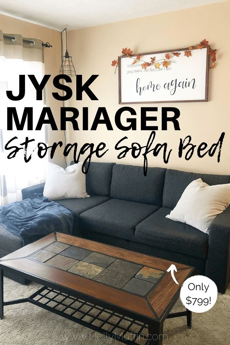 We Got A New Couch Jysk Mariager Sofa Bed Holly Muffin Sofa Bed Compact Sofa Bed Storage Chaise