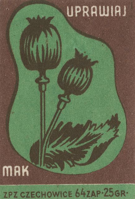 Polish matchbox label via Jane McDevitt…