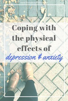 Physical effects of stress depression and anxiety attacks mental health illness